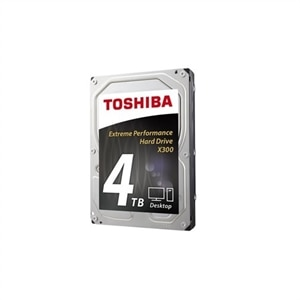 Toshiba X300 Hard drive 4 TB internal 3 5-inch SATA 6Gb/s 7200 rpm