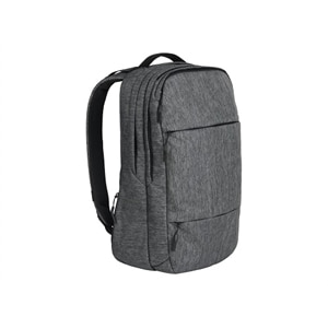 Incase Designs City - Notebook carrying backpack - 17 Inch - gunmetal gray
