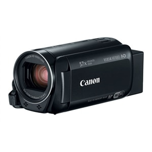 Canon VIXIA HF R80 - Camcorder - 1080p / 60 fps - 3.28 MP - 32x optical zoom - flash 16 GB - flash card - Wi-Fi, NFC