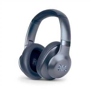 JBL Everest Elite 750NC Headphones with mic Full size Wireless Bluetooth Active Noise Canceling - Metallic Blue