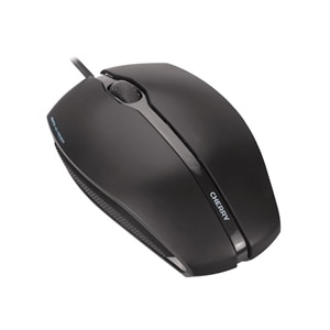 Cherry GENTIX Illuminated Mouse Right and Left Handed Optical 3 Buttons Wired USB - Black