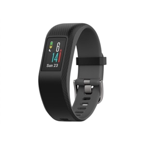 Garmin vívosport - Activity tracker - band size 4.8 in - 7.44 in - S/M - Bluetooth, ANT+/ANT - 0.85 oz - slate