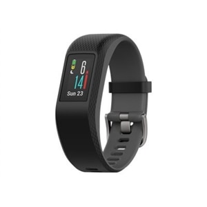 Garmin - vívosport Activity Tracker + Heart Rate (Large) - Slate