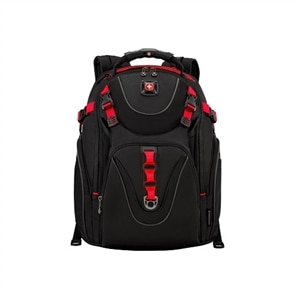 Wenger Maxxum Notebook Carrying Backpack16 Inch - Black, Red