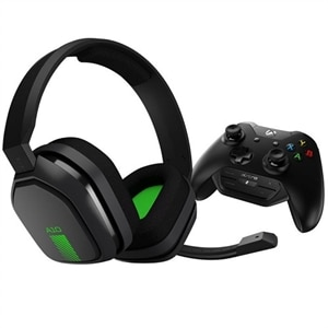 ASTRO A10 - Headset - full size - wired - 3.5 mm jack - dark - with Astro MixAmp M60