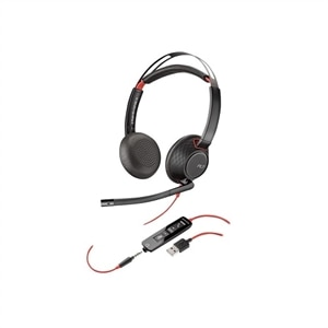 Plantronics Blackwire 5220 - 5200 Series Headset - on-ear Wired - USB, 3.5 mm jack