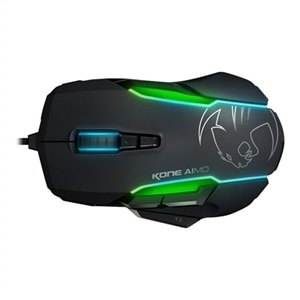 ROCCAT Kone AIMO Mouse Optical Wired USB - Black