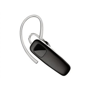 Poly M70 - Headset - ear-bud - over-the-ear mount - Bluetooth - wireless - black, white band