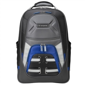 Targus DrifterQuest Notebook Carrying Backpack - 15.6 inch- Gray, Black, Blue
