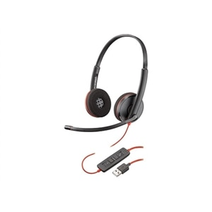 Plantronics Blackwire C3220 USB - 3200 Series Headset - on-ear - Wired - USB Noise Isolating