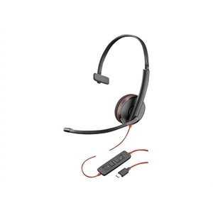 Plantronics Blackwire C3210 USB-C - 3200 Series Headset - on-ear - Wired - USB-C
