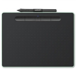 Wacom Intuos Creative Pen Small - Digitizer - 6 x 3.7 in - electromagnetic - 4 buttons - wired - USB - black