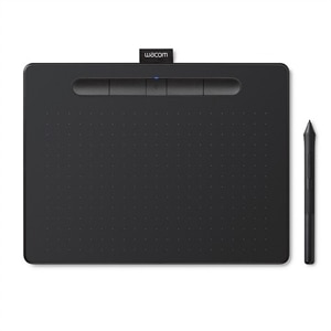 Wacom Intuos Creative Pen Small - Digitizer - 6 x 3.7 in - Electromagnetic - 4 buttons - wireless, wired - USB, Bluetooth - Black