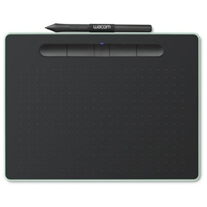 Wacom Intuos Creative Pen Small - Digitizer - 6 x 3.7 in - Electromagnetic - 4 buttons - wireless, wired - USB, Bluetooth - Pistachio Green