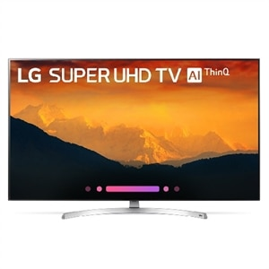 LG 55 Inch 4K HDR LED Super UHD TV with AI ThinQ, Nano Cell - 55SK9000PUA