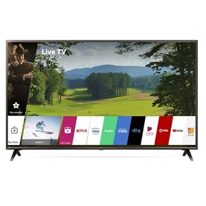 LG 49 Inch LED 4K HDR UHD Smart TV with AI ThinQ - 49UK6300PUE