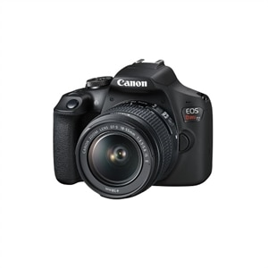 Canon EOS Rebel T7 - Digital camera - SLR - 24.1 MP - APS-C - 1080p / 30 fps - 3x optical zoom EF-S 18-55mm IS II lens - Wi-Fi, NFC - Black