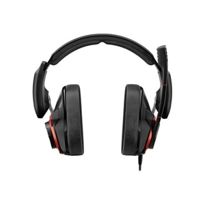 Sennheiser GSP 600 - Headset - full size - wired - 3.5 mm jack - noise isolating - black