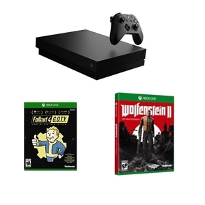 Xbox One X + Fallout 4 GOTY and Wolfenstein 2 | Dell USA