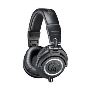 Audio-Technica ATH M50X - M Series - headphones - full size - wired - 3.5 mm jack