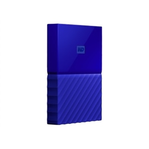 WD My Passport WDBS4B0020BBL - Hard drive - encrypted - 2 TB - external ( portable) - USB 3.0 - 256-bit AES - blue | Dell United States