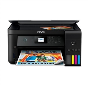 Epson Expression ET-2750 EcoTank Wireless Color All-in-One Supertank Printer