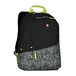 Wenger Criso - Laptop carrying backpack - 16-inch - black, ice gray
