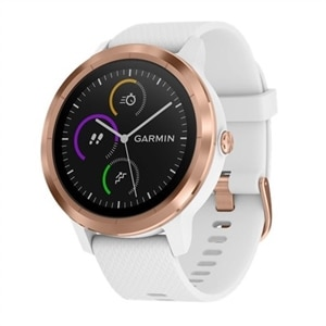 Garmin - vívoactive 3 Smartwatch - Rose Gold/White