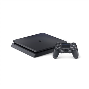 Sony PlayStation 4 - Game console - HDR - 1 TB HDD - jet black