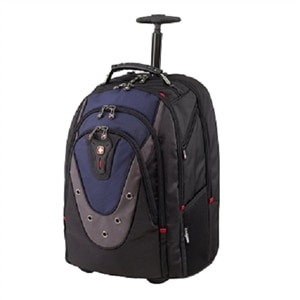 Wenger IBEX - Laptop carrying backpack/trolley - 16-inch - blue/gray