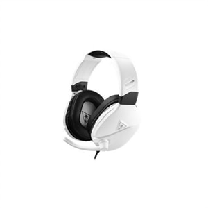 Turtle Beach RECON 200 - Headset - full size - wired - 3.5 mm jack - white