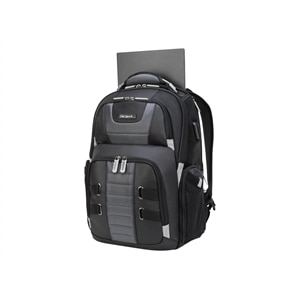 Targus DrifterTrek with USB Power Pass-Thru - Laptop carrying backpack - 11.6-inch - 16-inch - gray, black