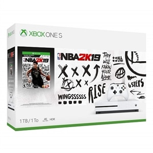 Microsoft Xbox One S 1TB console with NBA 2K19