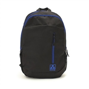 "M-Edge Flex Backpack with Battery  - 15"" - Black/Blue"