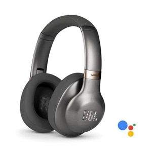 JBL Everest 710GA - Headphones with mic - full size - Bluetooth - wireless - gunmetal