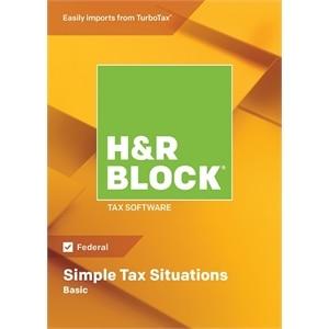 HR Block Tax Software Basic 2018 Windows | Dell USA