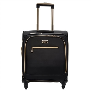 Sandy Lisa  Malibu Carry on Bag Black fits Laptops up to 15.6In & Tablet