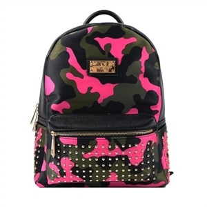Sandy Lisa Soho Mini - Laptop carrying backpack - 10-inch - camo