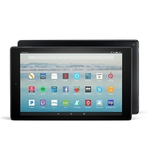 "Amazon Fire HD 10 Tablet with Alexa Hands-Free, 10.1"" - Full HD Display, 32 GB - Black - with Special Offers"