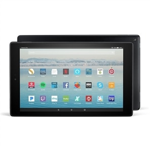 "Amazon Fire HD 10 Tablet with Alexa Hands-Free, 10.1"" 1080p Full HD Display, 64 GB - Black - with Special Offers"