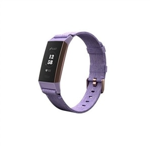 Fitbit Charge 3 - Special Edition - Rose gold activity tracker with sport band - Lavender
