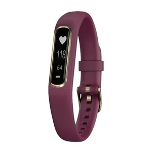 Garmin - vivosmart 4 Activity Tracker + Heart Rate - Berry