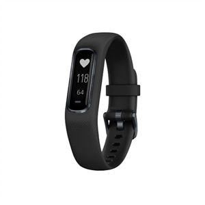 Garmin - vívosmart 4 Activity Tracker + Heart Rate (Large) - Black
