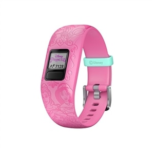 Garmin vívofit jr 2 - Disney Princess - activity tracker with band - silicone - pink - band size 130-175 mm - Bluetooth - 0.62 oz