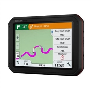 "Garmin - dezlCam 785 LMT-S 7"" GPS with Built-In Bluetooth - Black"