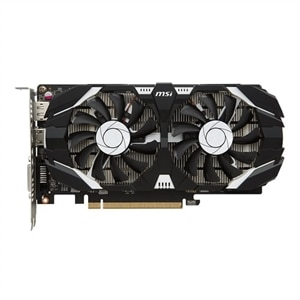 MSI GTX 1050 2GT OC Graphics Card NVIDIA GeForce 2 GB GDDR5 PCIe 3.0 x16 DVI, HDMI, DisplayPort