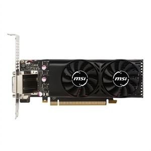 MSI GTX 1050 TI 4GT LP Graphics Card NVIDIA 4 GB GDDR5 PCIe 3.0 x16 Low Profile DVI, HDMI, DisplayPort