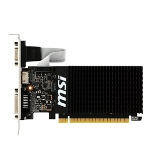 MSI GT 710 2GD3H LP Graphics Card 2 GB DDR3 PCIe 2.0 x16 Low Profile DVI, D-Sub, HDMI