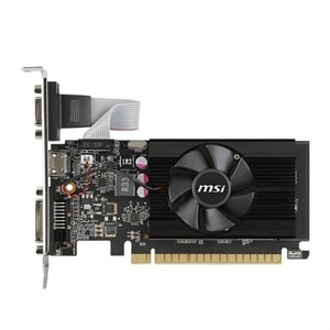 MSI GT 710 2GD3 LP Graphics Card 2 GB DDR3 PCIe 2.0 x16 Low Profile DVI, D-Sub, HDMI