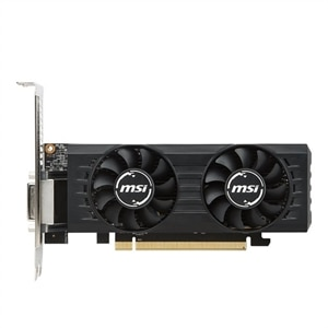 MSI RX 560 4GT LP OC Graphics Card 4 GB GDDR5 PCIe 3.0 x16 Low Profile - DVI, HDMI, DisplayPort